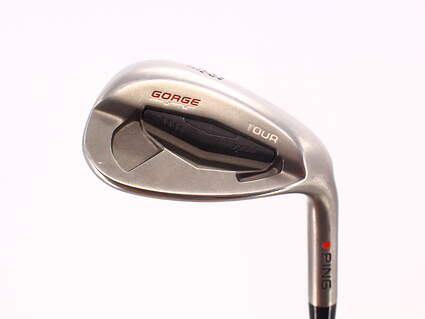 Ping Tour Gorge Lob LW 58° Standard Sole Ping CFS Steel Stiff Right Handed Red dot 35.25in