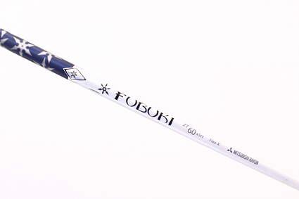 "Pull Mitsubishi Rayon Fubuki ZT 60 Driver Shaft X-Stiff 43.25in .335"" Tip"