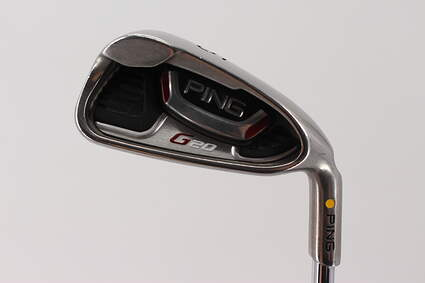 Ping G20 Single Iron 5 Iron   Ping CFS Steel Regular Right Handed Yellow Dot 38.25in