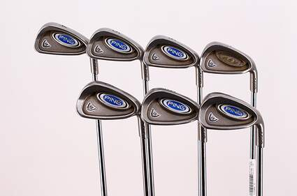 Ping i5 Iron Set 4-PW Project X 6.5 Steel Stiff Right Handed 39.0in