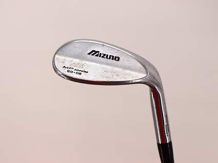Mizuno MP-T4 White Satin Wedge Lob LW 60° 6 Deg Bounce Rifle Spinner Steel Stiff Right Handed 35.5in