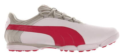 New Womens Golf Shoe Puma SunnyLite V2 Spikeless 6 White/Pink 188668 01 MSRP $80
