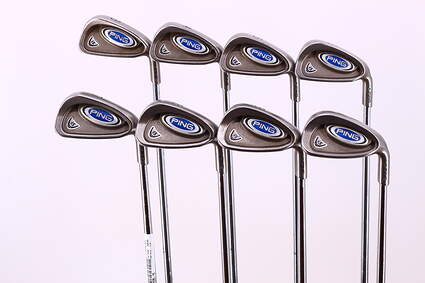 Ping i5 Iron Set 3-PW True Temper Steel Regular Right Handed Green Dot 37.75in