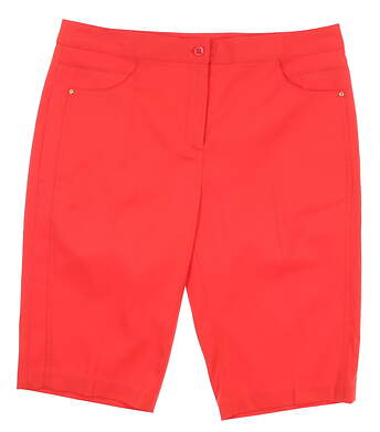 New Womens EP NY Tech Shorts 8 Poppy Zest 8120NAB