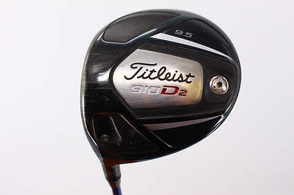 Titleist 910 D2 Driver 9.5° Project X 7C3 Graphite Stiff Left Handed 44.75in