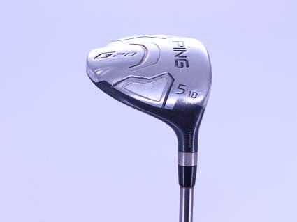 Ping G20 5 Wood 5W 18° Ping TFC 169F Graphite Regular Right Handed 42.75in