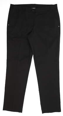 New Womens Puma Pants 14 Black 568365 01