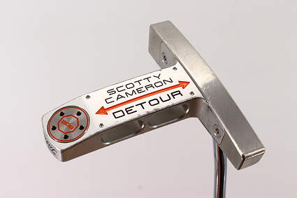 Titleist Scotty Cameron Detour Putter Steel Right Handed 34.5in