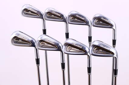 Cleveland CG16 Tour Satin Chrome Iron Set 3-PW Stock Steel Shaft Steel Regular Right Handed 37.75in