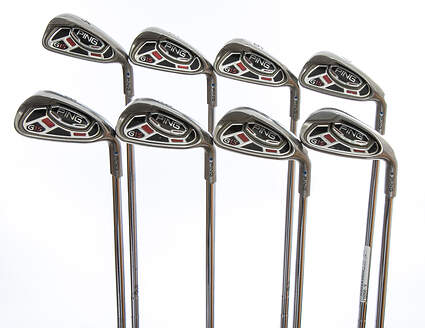 Ping G15 Iron Set 4-PW GW Ping AWT Steel Stiff Right Handed Blue Dot 38.5in