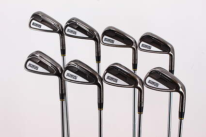 Adams Idea Pro A12 Iron Set 4-PW GW FST KBS Tour 90 Steel Stiff Right Handed 38.5in