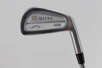 Miura Straight Neck CB-202 Single Iron 5 Iron   True Temper Dynamic Gold S300 Steel Stiff Right Handed 37.75in