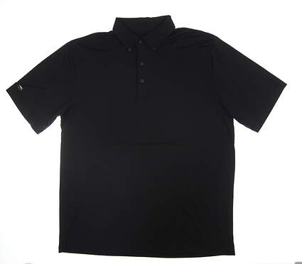 New Mens Greg Norman Golf Polo Large L Black
