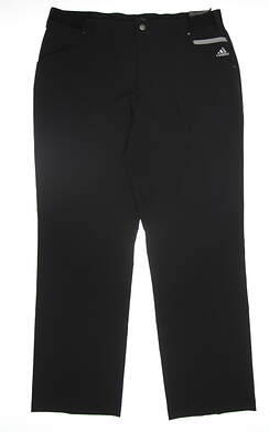 New Mens Adidas Golf Pants 38x32 Black B88182