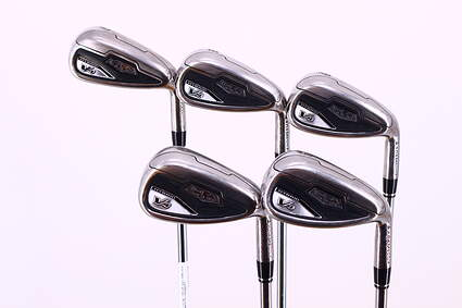 Adams Idea Tech V4 Iron Set 7-PW GW Stock Steel Shaft Steel Stiff Right Handed 37.5in
