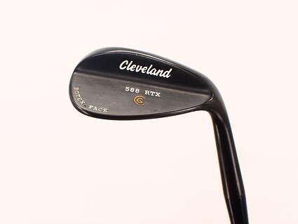 Cleveland 588 RTX Black Pearl Wedge Lob LW 58° 12 Deg Bounce True Temper Dynamic Gold Steel Wedge Flex Right Handed 35.0in