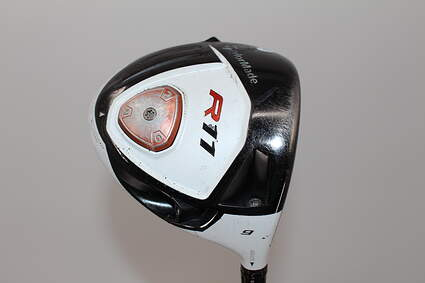 TaylorMade R11 Driver 9° Stock Graphite Shaft Graphite Stiff Right Handed 45.25in