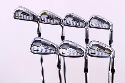 Nike Forged Pro Combo OS Iron Set 4-PW True Temper Speed Step Steel Stiff Right Handed 37.5in