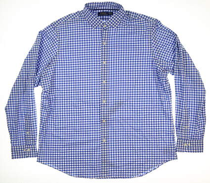 New Mens Ralph Lauren Button Up XX-Large XXL Blue
