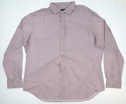 New Mens Ralph Lauren Classic Button Up XX-Large XXL Pink