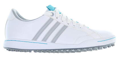 New Womens Golf Shoe Adidas Adicross II Medium 6 White 674873