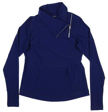 New Womens Jo Fit Jumper Pullover Medium M Navy Blue UT034-BLD
