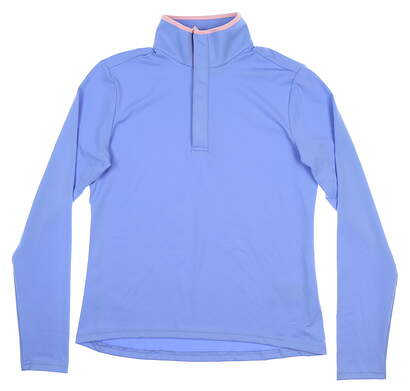 New Womens Ralph Lauren Golf Pullover Large L Blue