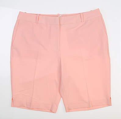 New Womens Fairway & Greene Shorts 12 Coral J3281