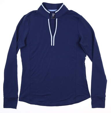 New Womens EP Pro Pullover Medium M Blue 5330NCC