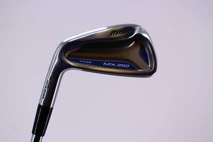 Mizuno MX 200 4 Iron Dynalite Gold XP R300 Steel Regular Left Handed 38.5in