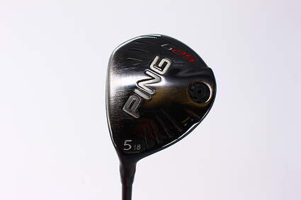 Ping G25 5 Wood 5W 18° Ping TFC 189F Graphite Stiff Left Handed 42.75in