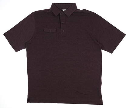 New Mens Footjoy Chest Pocket Polo X-Large XL Purple 22848