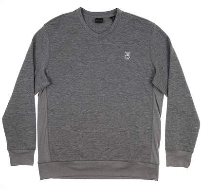 New W/ Logo Mens Dunning Sweater X-Large XL Gray D7F17K917 MSRP $125