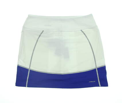 New Womens Cutter & Buck Annika Golf Skort Small S White LAB00012