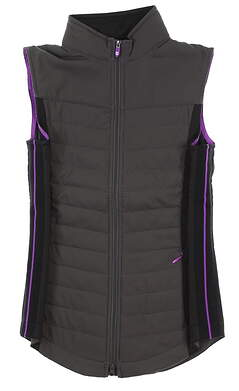 New Womens Footjoy Quilted Vest X-Small XS Multi 27508