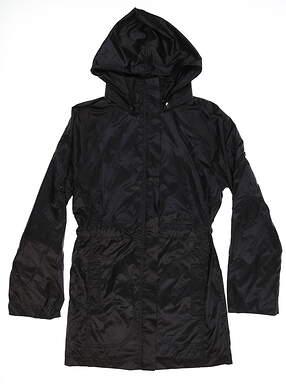 New Womens Anatomie Metallic Travel Merika Jacket Small S Black AS7929