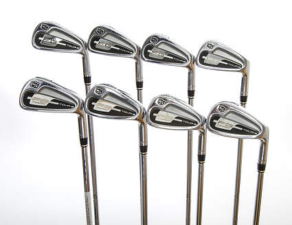 Wilson Staff FG Tour Forged Iron Set 3-PW True Temper Dynamic Gold S300 Steel Stiff Right Handed 38.0in