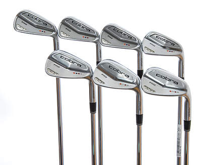 Cobra Amp Cell Pro Iron Set 4-PW Project X 6.5 Steel X-Stiff Right Handed 38.75in