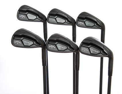 Callaway Apex Black Iron Set 5-PW UST Mamiya Recoil 760 ES Graphite Regular Right Handed +1 Degree Upright 37.75in
