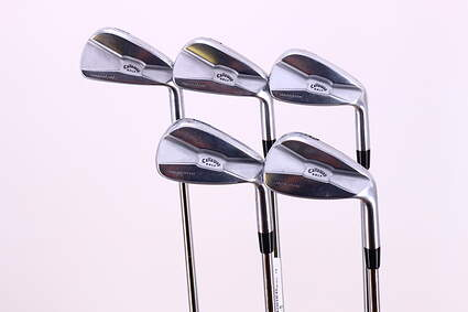 Callaway Tour Authentic Iron Set 6-PW Project X Flighted 5.5 Steel Stiff Right Handed 37.5in