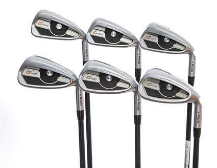 Ping G400 Iron Set 5-PW ALTA CB Graphite Regular Right Handed Green Dot 38.75in