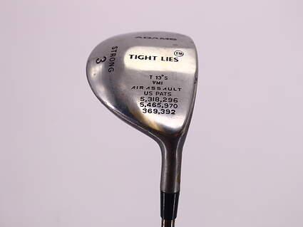 Adams Tight Lies Fairway Wood 3+ Wood 13° Stock Steel Shaft Steel Regular Right Handed 42.75in