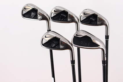 Nike VR S Covert Iron Set 7-PW SW Mitsubishi Kuro Kage Black 50 Graphite Ladies Right Handed 36.5in
