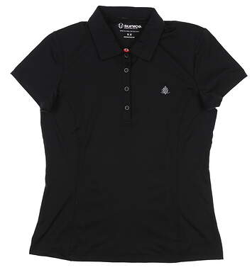 New W/ Logo Womens SUNICE Jacqueline Coollite Polo Medium M Black 831515