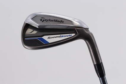 TaylorMade Speedblade Single Iron 8 Iron   Stock Graphite Shaft Graphite Ladies Right Handed 35.75in