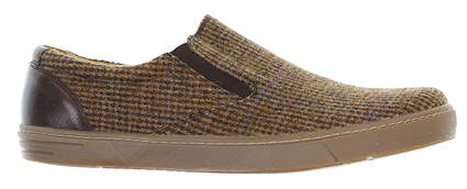 New Mens Peter Millar Tweed Shoes 10 Brown MF17F12