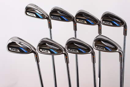 Ping G30 Iron Set 5-PW GW SW Project X 5.0 Steel Regular Right Handed Orange Dot 38.0in