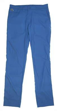 New Mens Lacoste Golf Pants Size 32 Blue MSRP $128