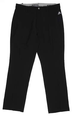 New Mens Adidas Golf Pants 38x32 Black BC2514 MSRp $80