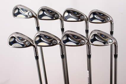TaylorMade R7 Draw Iron Set 5-PW GW SW TM Reax 45 Graphite Ladies Right Handed 38.25in